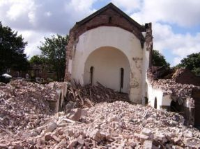 Demolition nearly complete